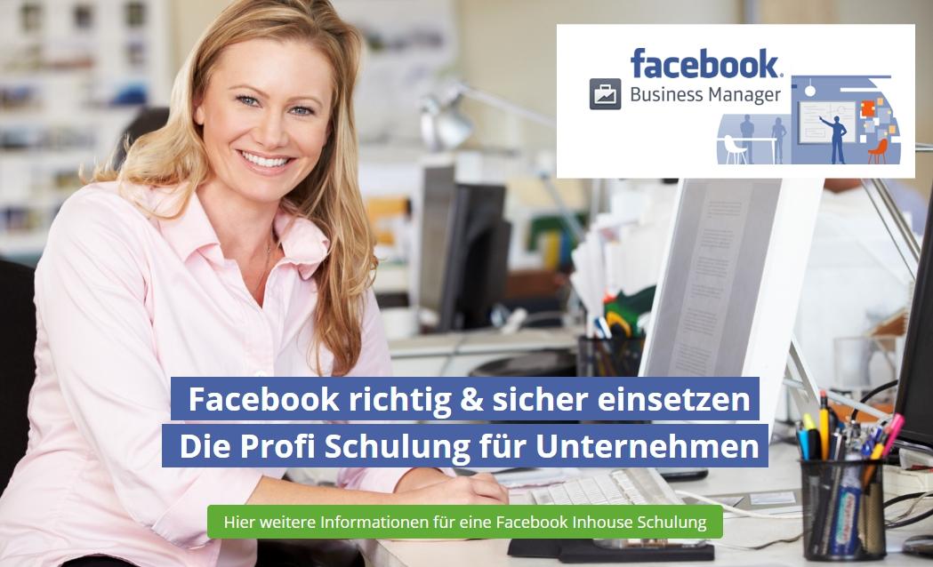 Facebook Schulung